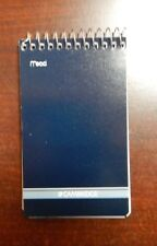"""MEAD CAMBRIDGE Writing Pad 3"""" x 5"""" Small Memo Book Wirebound Notebook 70Sheet"""