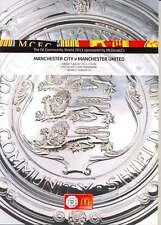 MAN CITY V MAN UTD 2011 COMMUNITY SHIELD PROGRAMME MANCHESTER