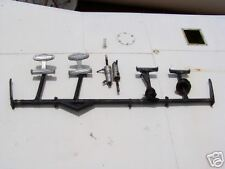 Piper Apache Rudder Pedals Assy With Pilot Toe Brakes