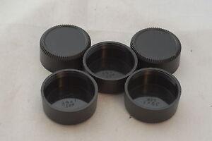 New 5 x M39 Plastic Medium Depth Lens Rear Cap For Leica SM