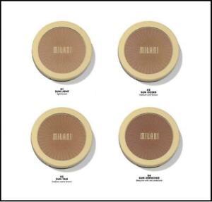 Milani Silky Matte Bronzing Powder ~ 01 Sun Light, 02 Sunkissed, 03 Sun Tan