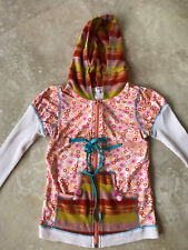 *NEW!* Baby Sara Girls' Hoodie Zip Jacket Sweater Lightweight Hooded Size 6x