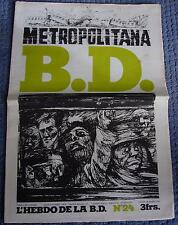 B.D. L'hebdo de la BD N°24 du 20 mars 1978 TARDI MANCHETTE PETILLON PICHON