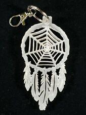 Key Chain Dream Catcher w/Spider Web Handmade ACRYLIC 1/4 Inch Thick
