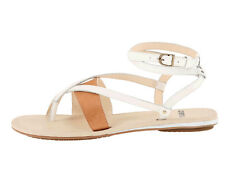 New Tsubo BRENLEIGH Leather Women Sandals Size 8 chk