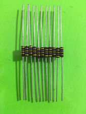 1/4W TRW Carbon Composition Resistors Multiple Values Available 10 Pc / 20 Pc