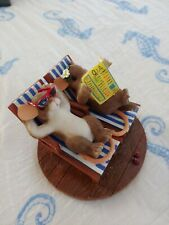 "Fits and Floyd charming tails mouse 82/111""Time for a little Rr"" beach rare"