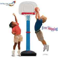 Basketball Hoop Portable Adjustable Height Base Kids Toddler Indoor Outdoor Spor