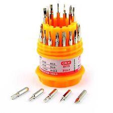 Mini 31 in 1 Precision Magnetic Screwdriver Set Repair Tool Hex Trox Phillips #