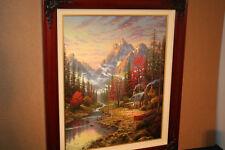 Thomas Kinkade The Good Life 24x30 Brandy Frame  - CC