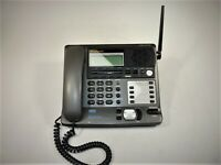 Panasonic KX-TG4000B 4-Line Automated Attendant Phone System Power Tested AS-IS