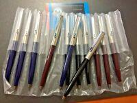 Bolígrafos Inoxcróm 77 12 unidades  4 de cada color negro - marrón y azul.Nuevo