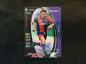 GIUSEPPE SIGNORI BOLOGNA Trading Card Wizard FOOTBALL CHAMPIONS 2001/2 2001 2002