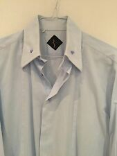 Billionaire Couture Men's Button Collar Shirt 17.5