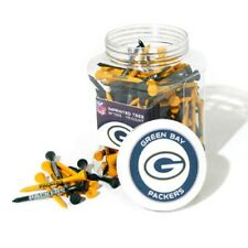 GREEN BAY PACKERS Imprinted Golf Tees. Plastic Jar of 175 Imprinted Tees  NFL