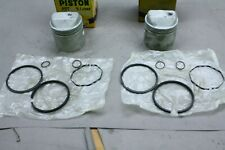 New listing Harley XL, XLH, XLCH Ironhead Sportster 1000 .020 over Piston Set (2) by MC