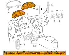 Mercedes MERCEDES-BENZ OEM ML500-Instrument Panel Dash Gauge Cluster 1635409311