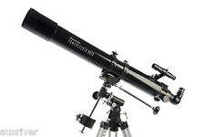 Celestron Astronomical PowerSeeker 80EQ Telescope With Tripod Quick Setup 21048
