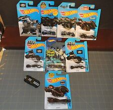 Hot Wheels lot of 9 Batman Dark Night Batmobile classic TV 06 Dodge Viper Arkham