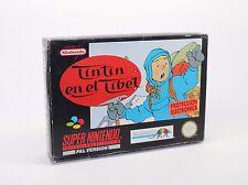 TINTIN TIN TIN EN EL TIBET SUPER NINTENDO SNES PAL