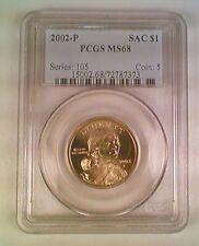 2002-P Sacajawea Native American Dollar PCGS MS68