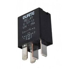 Durite - Relay Micro Make/Break 25 amp 12 volt Sealed with Diode Cd1 - 0-727-13