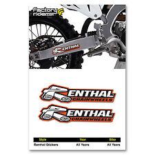 Renthal STICKERS Mx Dirt Bike GRAPHICS fit all Motocross Bikes!