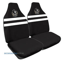 COLLINGWOOD MAGPIES Official AFL Car Seat Covers Airbag Compatible *NEW*