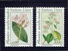 United Nations Geneva 1990 Medicinal Plants - Complete Set - MUH