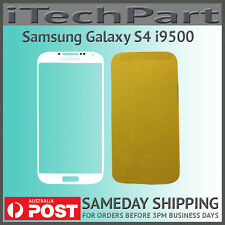 White LCD Screen Lens Glass Replacement For Samsung Galaxy S4 i9500