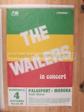 [MM 0443]POSTER CONCERTO THE WAILERS BOB MARLEY 04-10-1987 MODENA  98X66