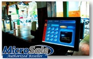 MICROSALE Pro Restaurant Bar Pizza POS Touch System (lease or purchase)