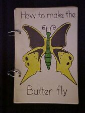 How to Make the Butter Fly, Pleasant Grove Christian Church Cookbook Dallas TX