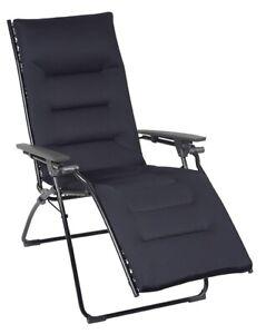Lafuma Relaxliege Evolution Air Comfort Acier Neu & OVP Saunaliege Liege