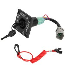 le_ji84 Vertical Type Single Engine BRP Ignition Cut Off Switch With Keys 176408