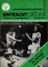 BL 79/80 Eintracht Braunschweig - VfL Bochum, 10.11.1979, Franz Merkhoffer