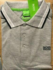 Hugo Boss Polo Short Sleeve( Colour: Gray. Size: L) Brand New