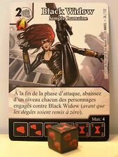 Marvel Dice Masters - #036 Black Widow - Simple humaine - Avengers vs X-Men