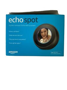 Amazon Echo Spot w/ a Screen Alexa Voice Service Bluetooth WIFI - Black