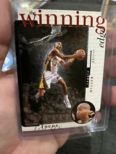 1996-97 Upper Deck UD3 Reggie Miller #W3 Winning Edge Die-Cut Insert Card Pacers