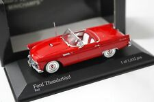 1:43 Minichamps Ford Thunderbird Convertible 1955 red