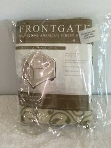 FRONTGATE Large Club / Lounge Chair Cover. Style #: 44121. Color: Ashley. NEW.