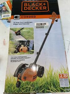 Black & Decker LE750 Corded 2 in 1 Landscape Edger & Trencher Used