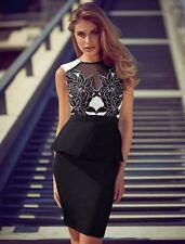 Polyester Peplum Regular Size Formal Dresses for Women