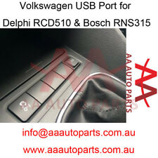 Volkswagen USB Port for Golf Jetta MK5 MK6(Fit for Delphi RCD510, Bosch RNS315)