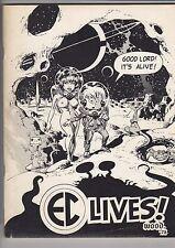 EC LIVES! - 1972 E.C. Comics fanzine VF/NM (Signed by Bill Gaines)