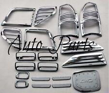 For 1997 - 2002 Toyota Prado 3400 FJ90 ABS Chrome Trim Complete Set 19P