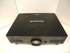 DLP Projector Panasonic Model PT-DW5100U WXGA 5500 Lens Good Working