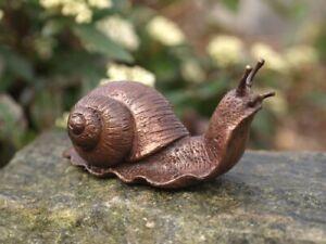 Bronzefigur Kleine Schnecke