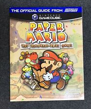 PAPER MARIO Thousand Year Door STRATEGY GUIDE Excellent!